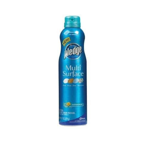 Pledge 72416 Multi-Surface Spray Cleaner, 9.7 Oz