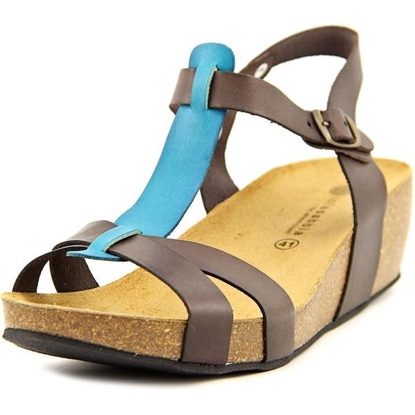 Lola Sabbia Libby Women Brown/Turquise Sandals