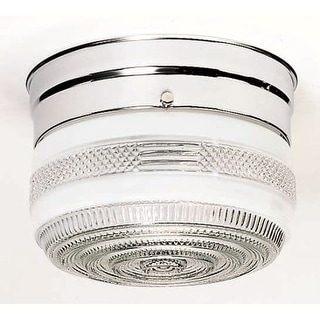 Nuvo Lighting 77/100 1 Light Flush Mount Indoor Ceiling Fixture - 6 Inches Wide