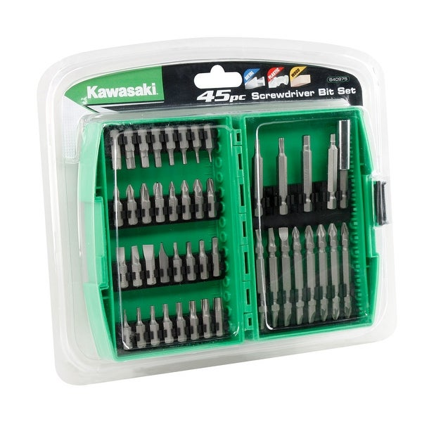 Kawasaki� 45 pc Screwdriver Bit Set - 840975