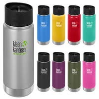 Klean Kanteen 16 oz. Wide Insulated Bottle with Cafe Cap - 16 oz.