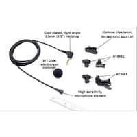 Mini Omnidirectional Mono Lavalier Microphone, 39 inch cable. .
