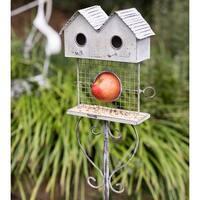 Bird Bungalow Garden Stake