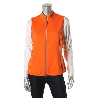 L-RL Lauren Active Womens Vest Reflective Full Zip
