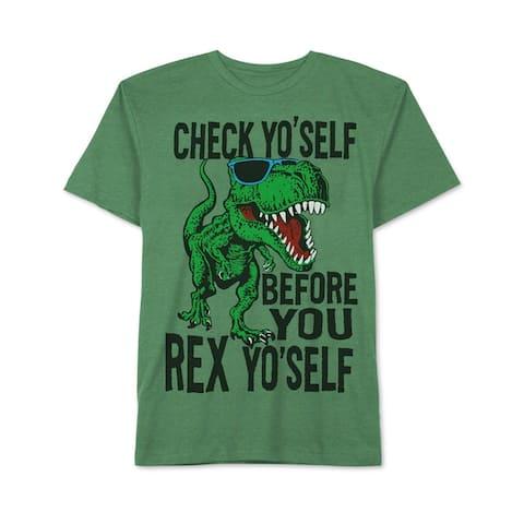 Jem Boys T-Rex Graphic T-Shirt - M