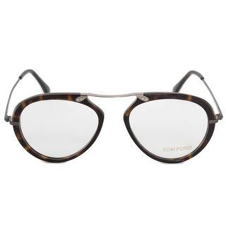 3f372f85c262 Quick View. Was  184.00.  18.40 OFF. Sale  165.60. Tom Ford FT5346 052 53  Oval Havana Eyeglass Frame