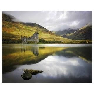 """""""Kilchurn castle in Scotland."""" Poster Print"""