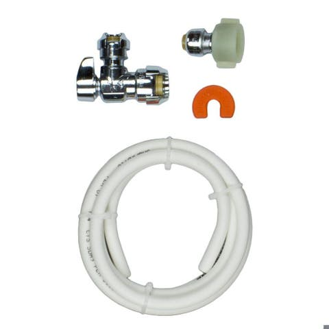 SharkBite 25088 Toilet Installation Kit with Angle Stop