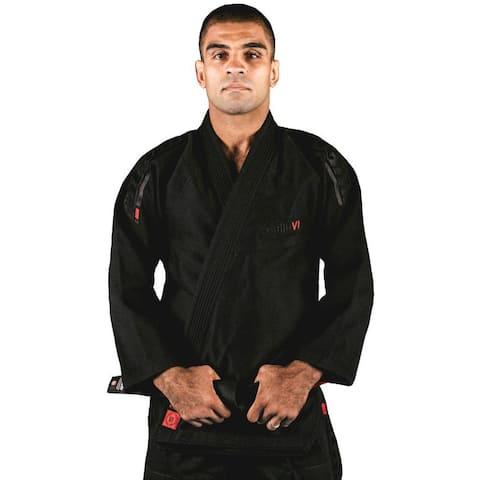 Tatami Fightwear Estilo 6.0 Premium BJJ Gi - Black/Black