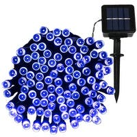 Sunnydaze LED Solar Powered String Lights (Multiple Colors Available)