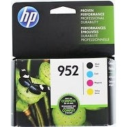 HP 952 Ink Cartridge Combo Pack - B/C/M/Y # X4E07AN HP 952 Black, Cyan, Magenta & Yellow ink cartridges, 4-Pack - Multi