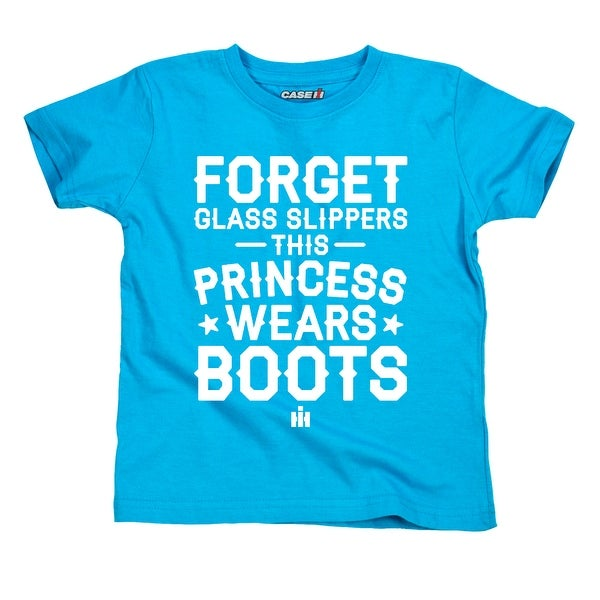 Princess Wears Boots Case Ih© - Toddler Short Sleeve Tee