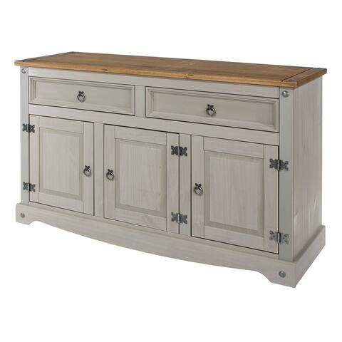 Wood Buffet Sideboard Corona Collection Furniture Dash