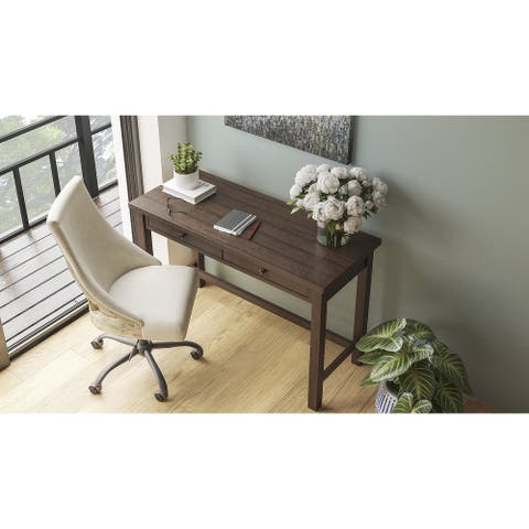 Camiburg Casual Home Office Desk, Natural