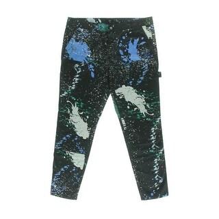 Tibi Womens Splatter Classic Rise Skinny Jeans - 30