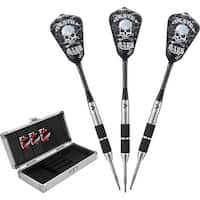 Viper Desperado 24 gram weight Death Mark 80% Tungsten Steel Tip Darts with Storage Travel Case