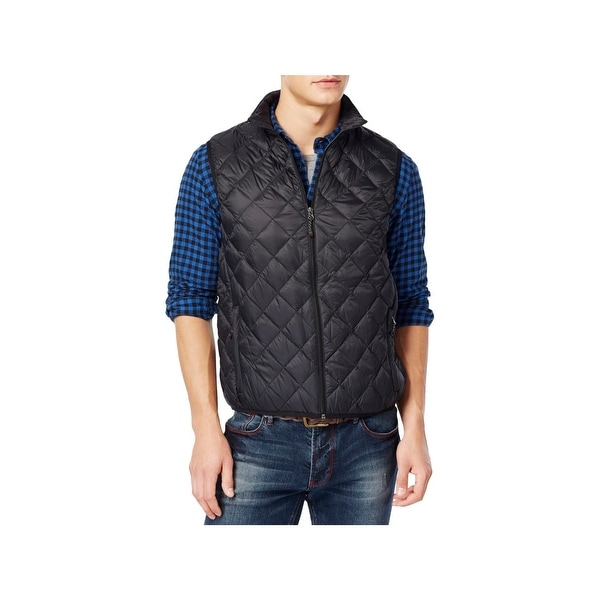 54a4361fc Hawke & Co. Mens Big & Tall Outerwear Vest Down Quilted - 2xlt