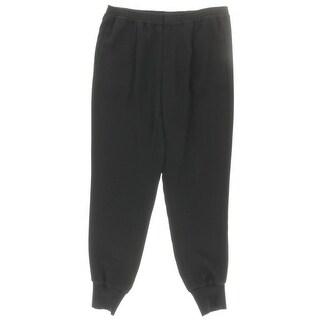 Vince Womens Jogger Pants Crepe Comfort Waist