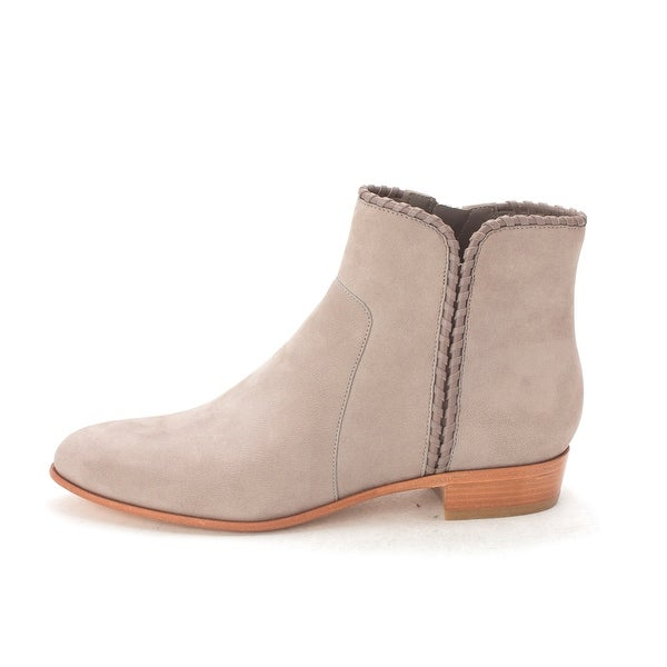 Cole Haan Womens Madisynsam Closed Toe Ankle Fashion Boots, Grey, Size 6.0