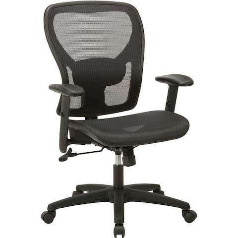 Lorell SOHO Mesh Mid-Back Task Chair