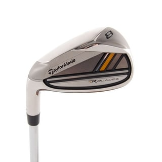New TaylorMade RocketBladez 5-Iron FST R-Flex Steel LEFT HANDED