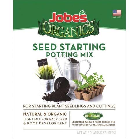 Easy Gardener 08728 Jobes Seed Starting Potting Mix, 8 Quart