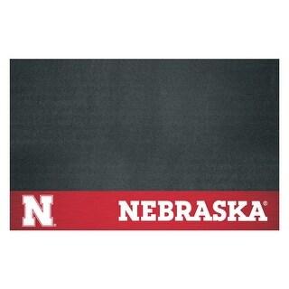 University of Nebraska Vinyl Grill Mat