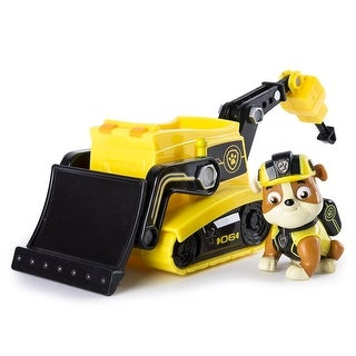 Paw Patrol Mission Paw Vehicle: Rubble's Bulldozer - Multi