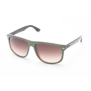 Ray-Ban Hollywood Sunglasses Green/Brown - Small