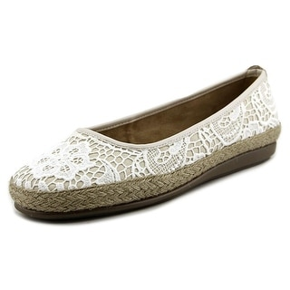 A2 By Aerosoles Rock Solid Women W Round Toe Canvas Flats