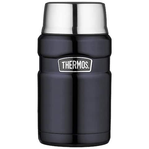 Thermos stainless steel food jar 24 oz midnight blue sk3020mbtri4