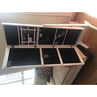 Cheval Freestanding Jewelry Armoire With LED Lights