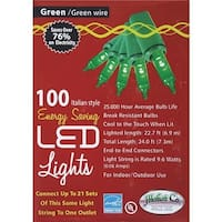 J. Hofert 100Lt Led Mini Grn Light 2290-05 Unit: EACH