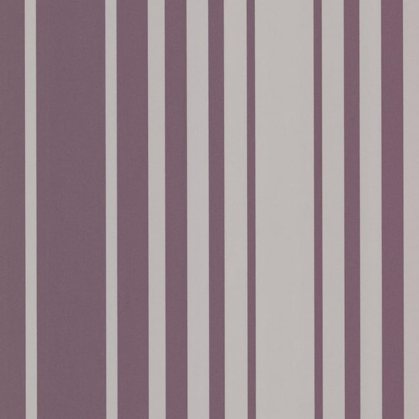 Brewster 2533-20223 Lewitt Purple Barcode Stripe Wallpaper - N/A