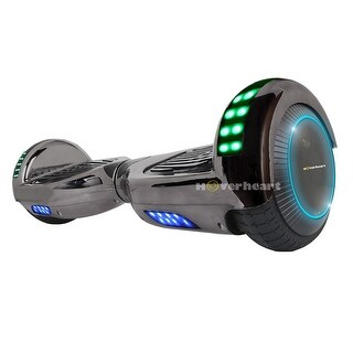 "UL2272 Certified Bluetooth 6.5"" Hoverboard Two Wheel Self Balancing Scooter Titanium BLACK