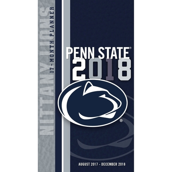 reputable site 51c47 9b071 Shop Penn State Nittany Pocket Planner, Penn State Nittany Lions by Turner  Licensing - Free Shipping On Orders Over  45 - Overstock - 18265007