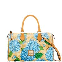 Dooney & Bourke Hydrangea Basketweave Classic Satchel (Introduced by Dooney & Bourke at $228 in Apr 2018)