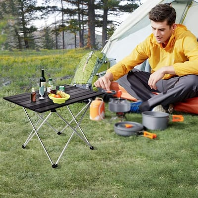 Aluminum Table Folding Table Camping Outdoor Lightweight - 22*5.5*3