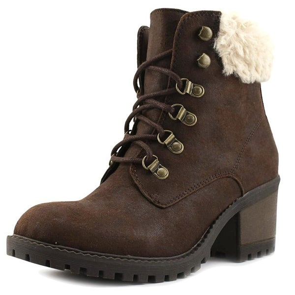 White Mountain Trident Women Brown Multi Boots