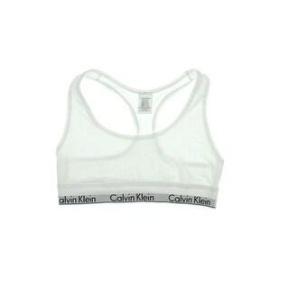 Calvin Klein Womens Modal Blend Bralette Sports Bra