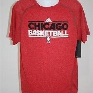 Chicago Bulls Youth Medium M Nice Adidas Clima Lite Shirt 24Ca