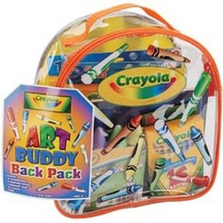 "8""X8.5""X4.5"" - Crayola Art Buddy Backpack"