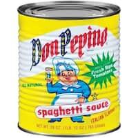 Don Pepino Spaghetti Sauce - Case of 12 - 28 oz.