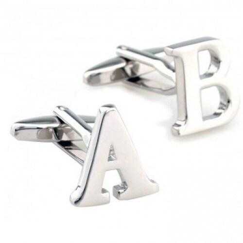 Letter Cufflinks - Your Choice Alphabet Initials