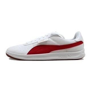 Puma Men s G Vilas 2 Core Puma White Barbados Cherry nan 362214 01 Size 8 cacf02d91d2
