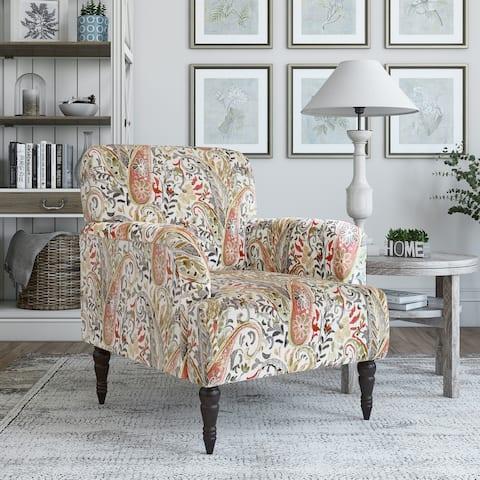 Copper Grove Desden Paisley Arm Chair