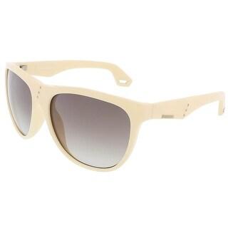 Diesel DL0002 25B Ivory Wayfarer sunglasses