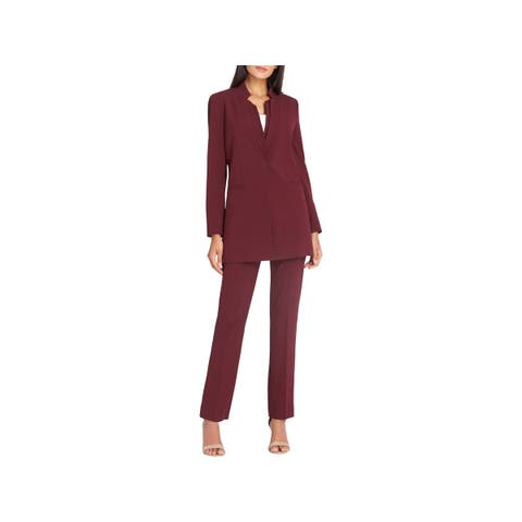 Tahari ASL Womens Pant Suit 2 PC Office Wear