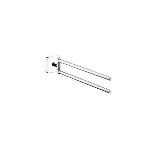Hansgrohe 41512 Puravida 18 Dual Swivel Towel Bar Chrome