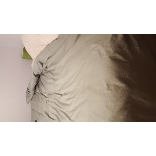 Organic Rayon from Bamboo Duvet Cover